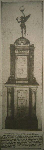Co op Memorial